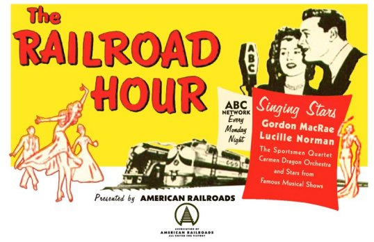 Railroad Hour Ad